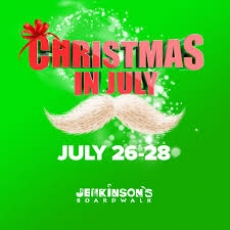 Christmas is July! Yes, Santa Will Be There!