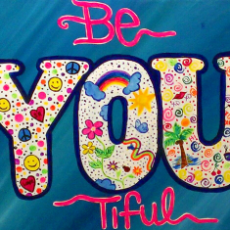 Be-you-tiful Painting