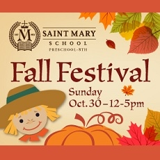 Saint Mary School Fall Festival