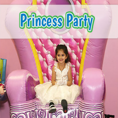 Princess (or Pirate) Birthday Party