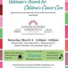 11th Annual Adrienne's Search for the Cure, benefiting