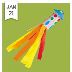 Free Crafts for kids- To the Moon & Back! Rocket