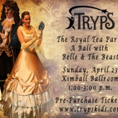The Royal Tea Party: A Ball with Belle and the Beast