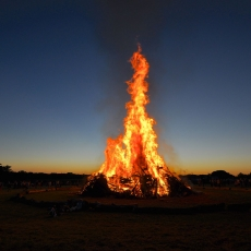 Bonfire for Beaver Valley