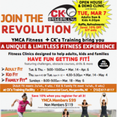 CK's Field of Fitness with the YMCA - Kid Fit