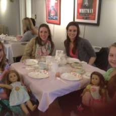 AMERICAN GIRL MOTHER DAUGHTER SPRING TEA WITH LAURA INGALLS WILDER