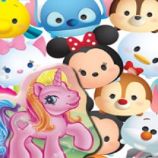 My Little Pony and Tsum Tsum Fun, ages 6-10
