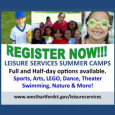 West Hartford Leisure Services Summer Camps