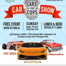 Cars for Cops- Car Show