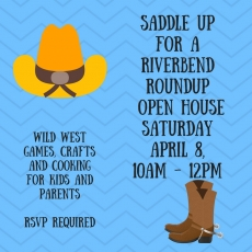 Camp Riverbend's Wild West Open House