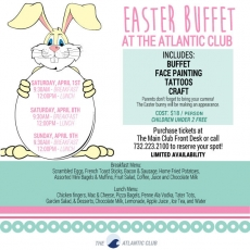 Easter Buffet at The Atlantic Club