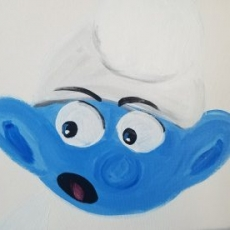 Paint a Smurf!