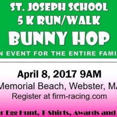 St. Joseph School 5K Run/Walk Bunny Hop