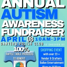2nd Annual Autism Awareness Fundraiser