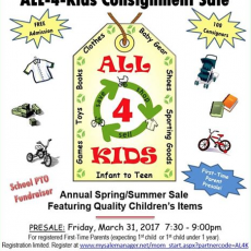 Spring Consignment Sale to Support Latimer Lane PTO