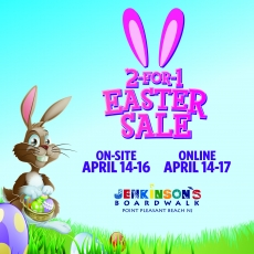 2 for 1 Easter Sale