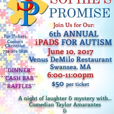 Sophie's Promise 6th Annual iPads for Autism