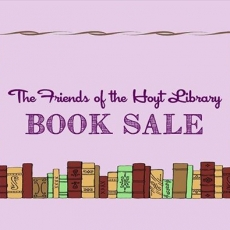 The Friends of the Hoyt Library Book Sale
