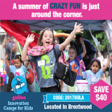 Camp Galileo - Save $40 Code: 2017HULA