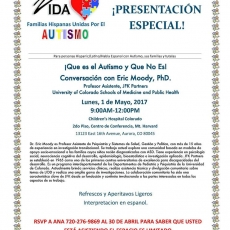 What Is Autism and What it is not, A Conversation with Eric Moody, PhD (Spanish Interpretation Avail)