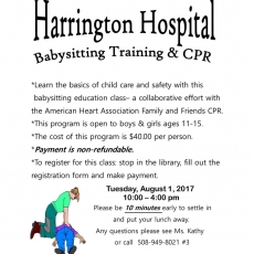 Babysitting Training & CPR
