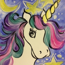 Art Buzz Kiddo Sassy Unicorn