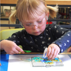 Creative Glass Art Classes & Workshops: Ages 3+