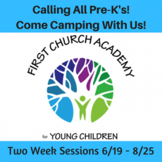 First Church Academy for Young Children Pre-K Summer Camp Program