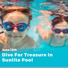 Dive for Treasure in Sunlite Pool!