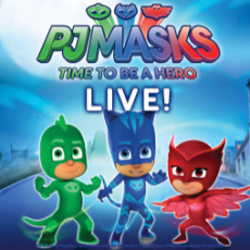PJ Masks Live! Time To Be a Hero!