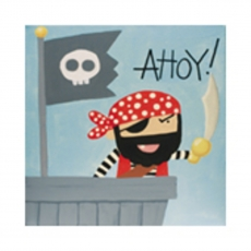 Kids Canvas Paint - Ahoy Pirate!