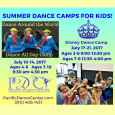 Dance Around the World - All Day Dance Camp
