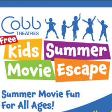 Free Summer Kids Shows at Cobb Theater