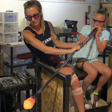 Glass Blowing Lessons