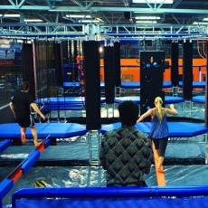Become a Warrior at SkyZone