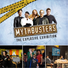 Liberty Science Center, MythBusters: The Explosive Exhibition