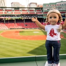 American Girl at Fenway Park Tour