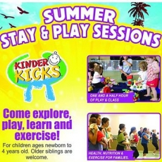 KinderKicks Stay and Play Event