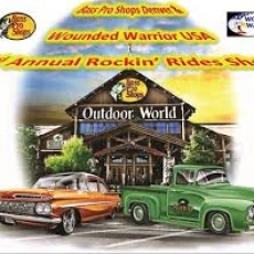 3rd Annual Rockin Rides Show benefitting Wounded Warriors USA