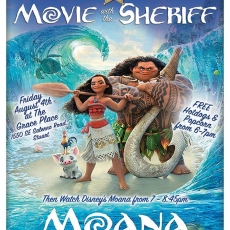 Movie with the Sheriff: MOANA
