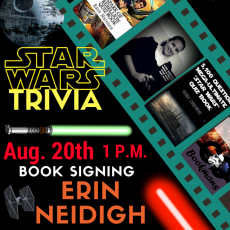 """""""Star Wars Trivia"""" Author Signing With Erin Neidigh"""