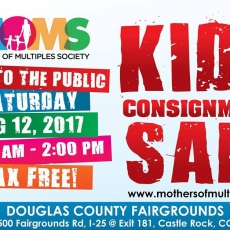 Kids Consignment Sale by MOMS