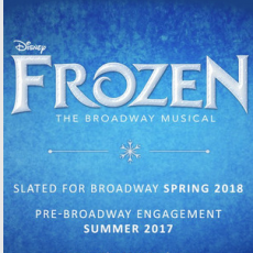 Disney's Frozen The Broadway Musical at the Buell Theater (Aug 17-Oct 1)